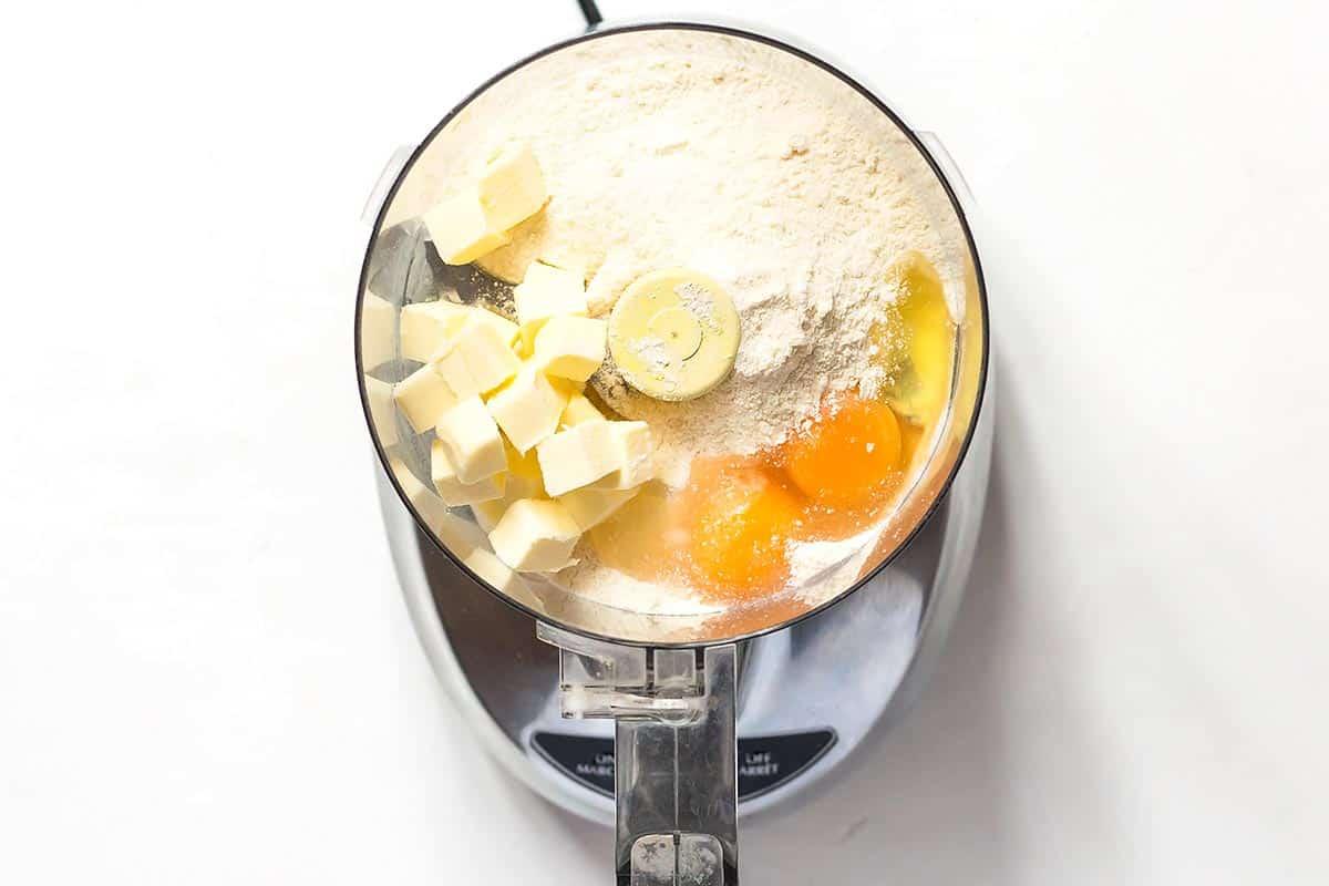 Coconut Flour Pie Crust Ingredients in Food Processor