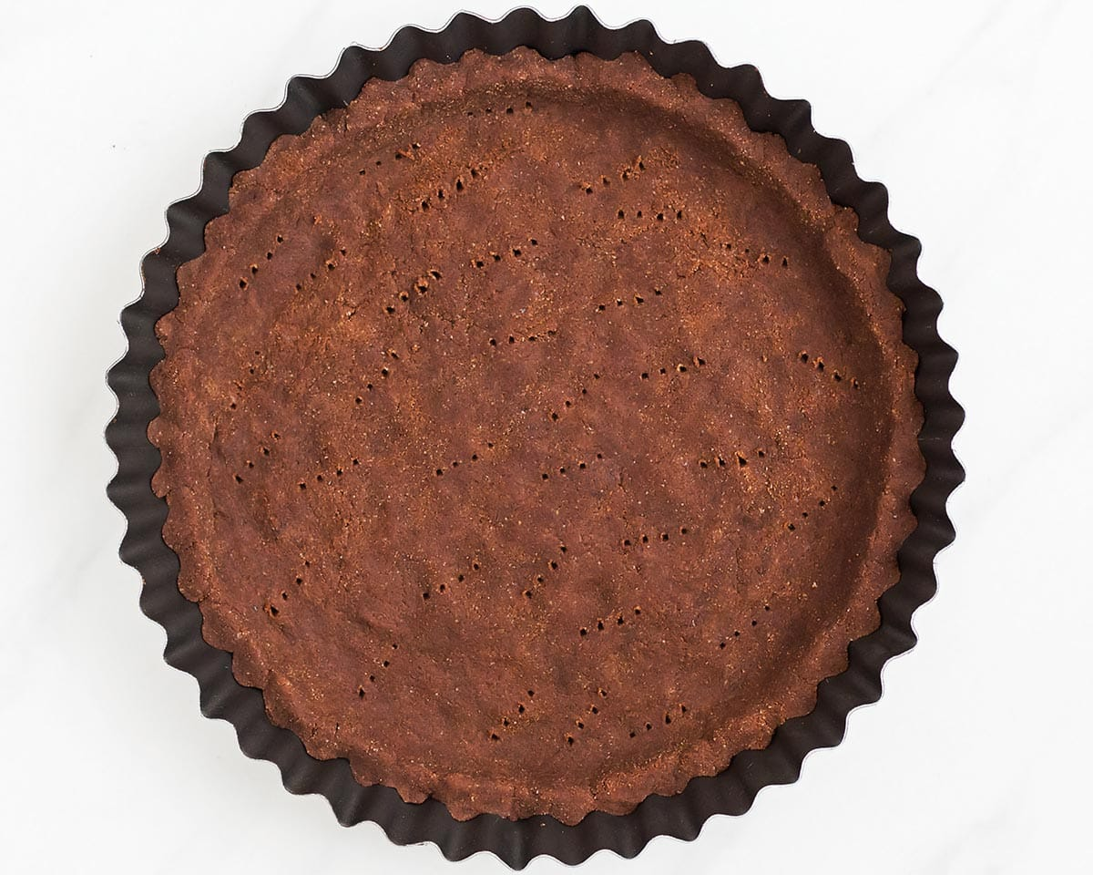 Coconut Flour Chocolate Crust