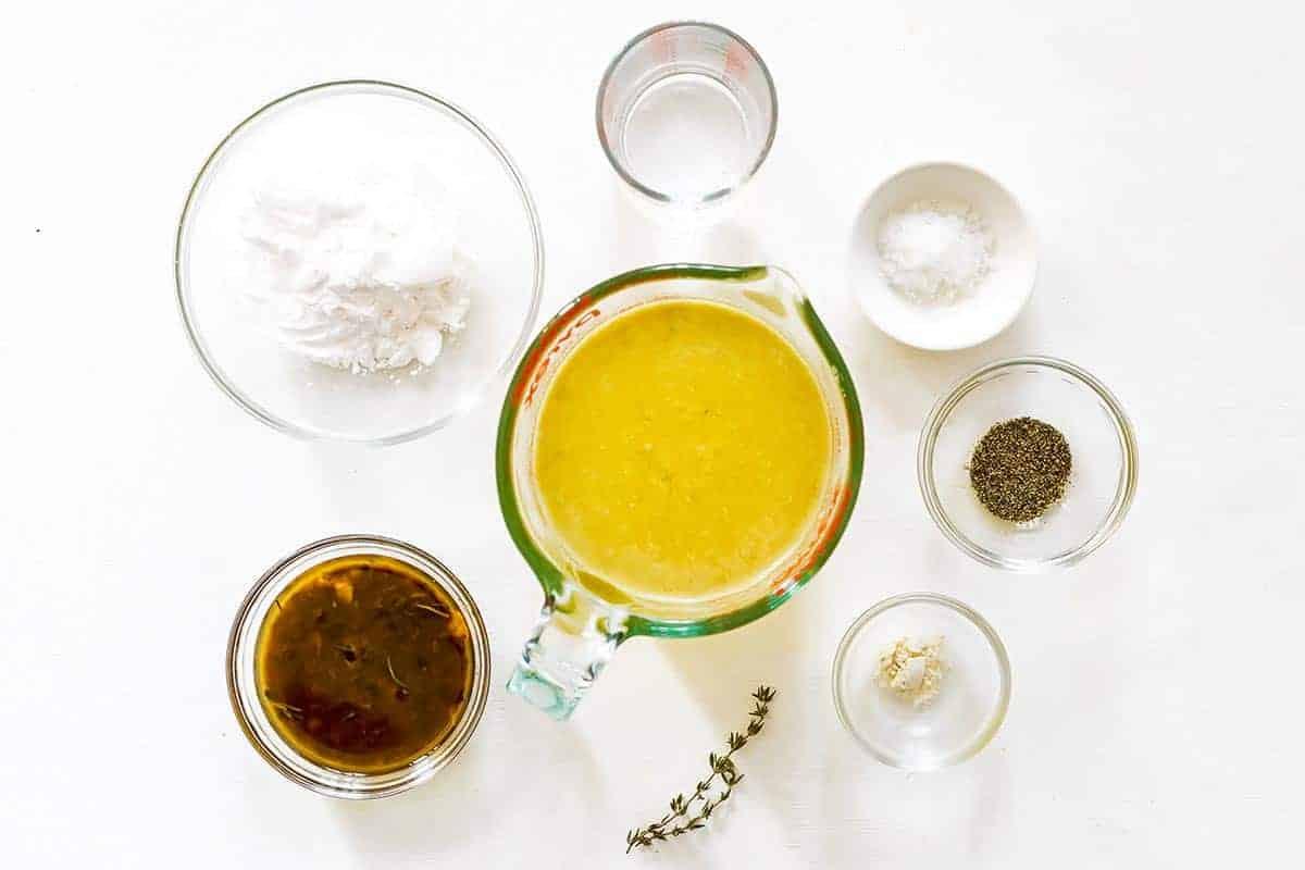 Gluten Free Gravy Ingredients
