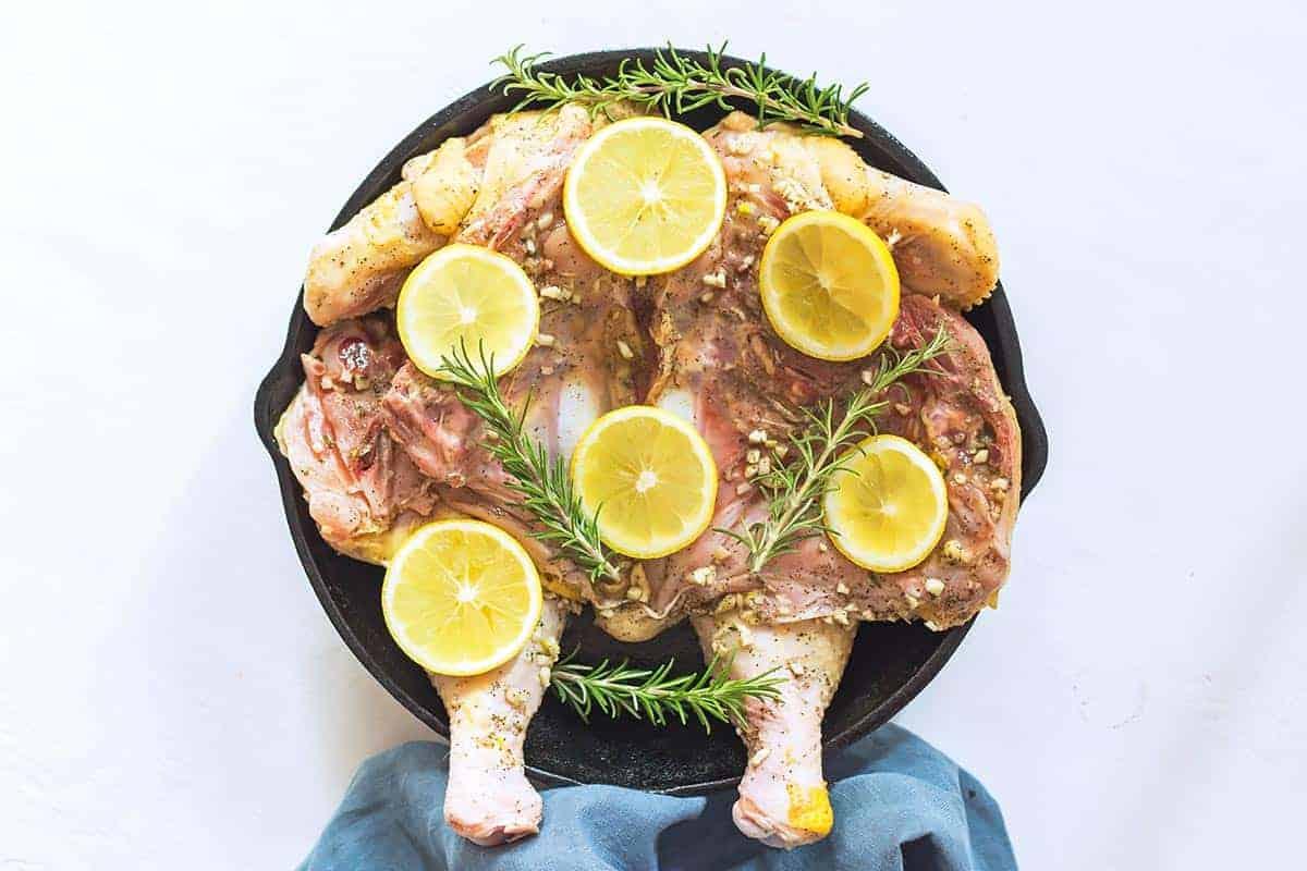 Marinated Lemon and Rosemary Chicken