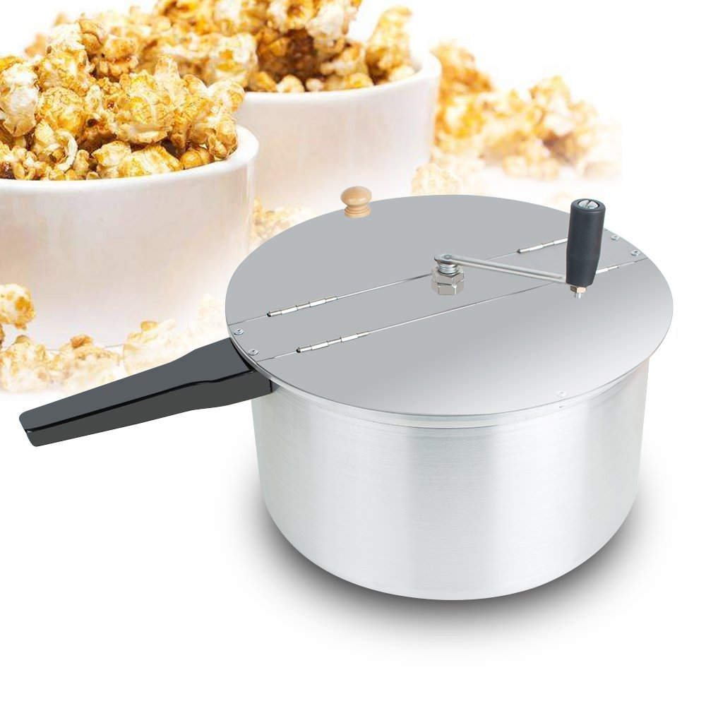 Careshine Hand Crank Stovetop Popcorn Machine