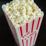 Popcorn in Popcorn Container