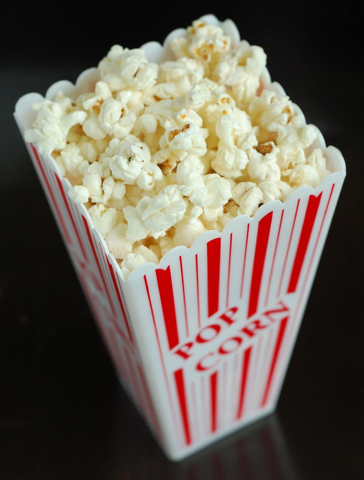 Popcorn in Container