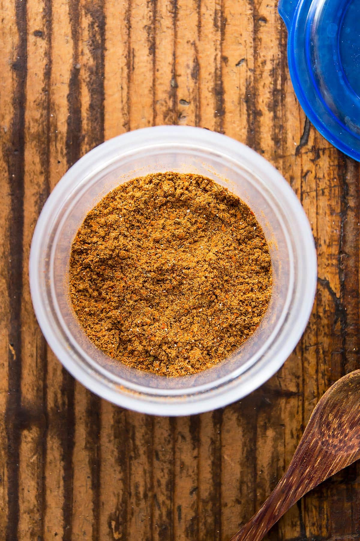Taco Seasoning Mix in Container