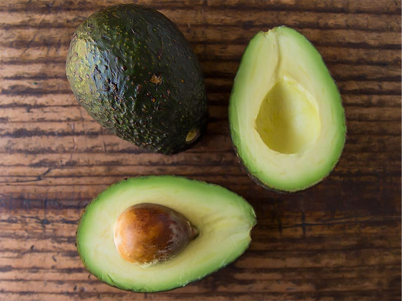 Avocados for healthy avocado deviled eggs recipe
