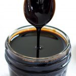 Spoon in Balsamic Vinegar Reduction