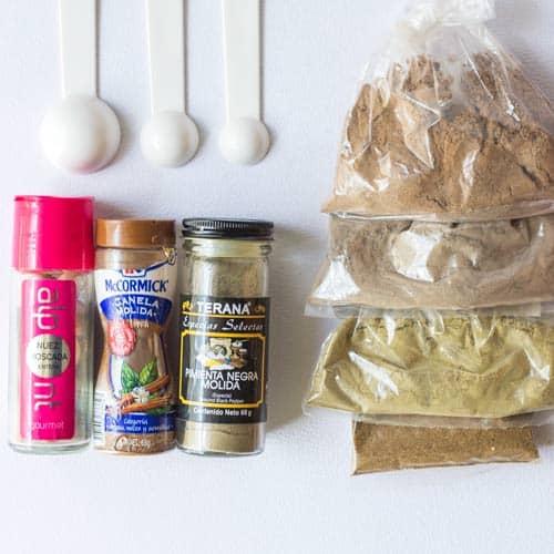 Garam Masala Spice Ingredients