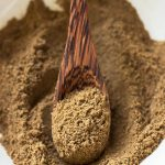 Garam Masala Substitute on a spoon