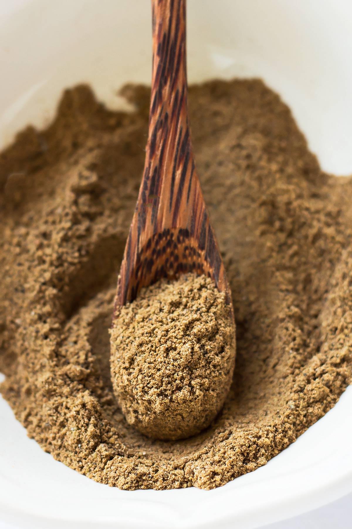 Garam Masala Substitute on Spoon
