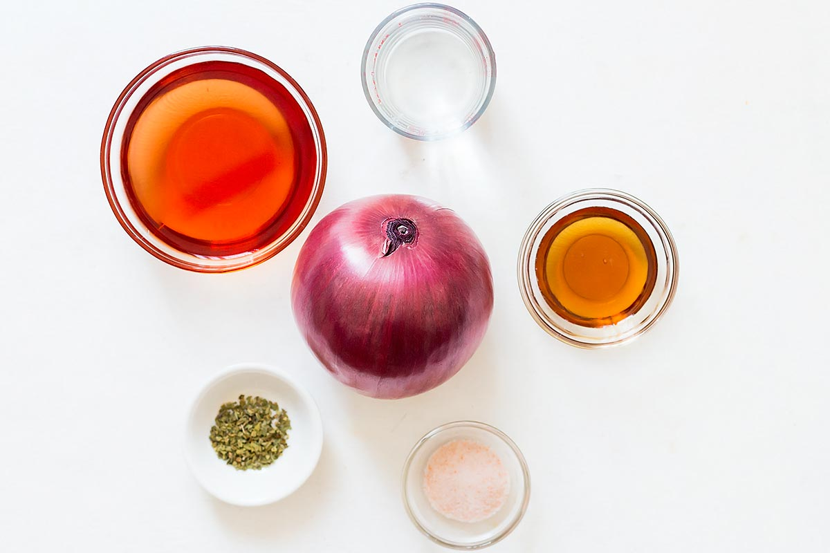Quick Pickled Onions Ingredients