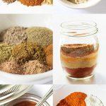 Seasoning Mix Recipes Collage