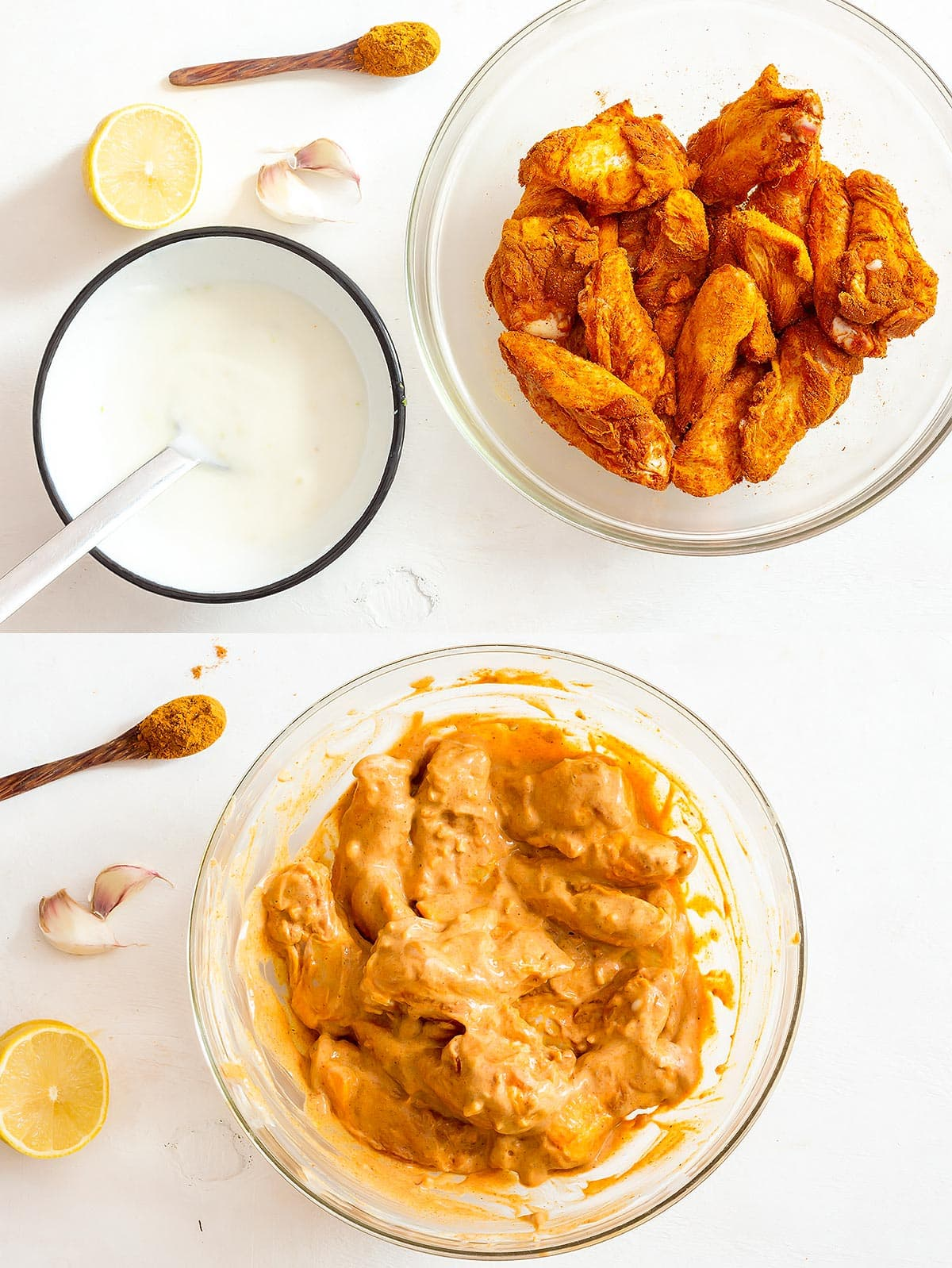 Tandoori Yogurt Marinade Ingredients