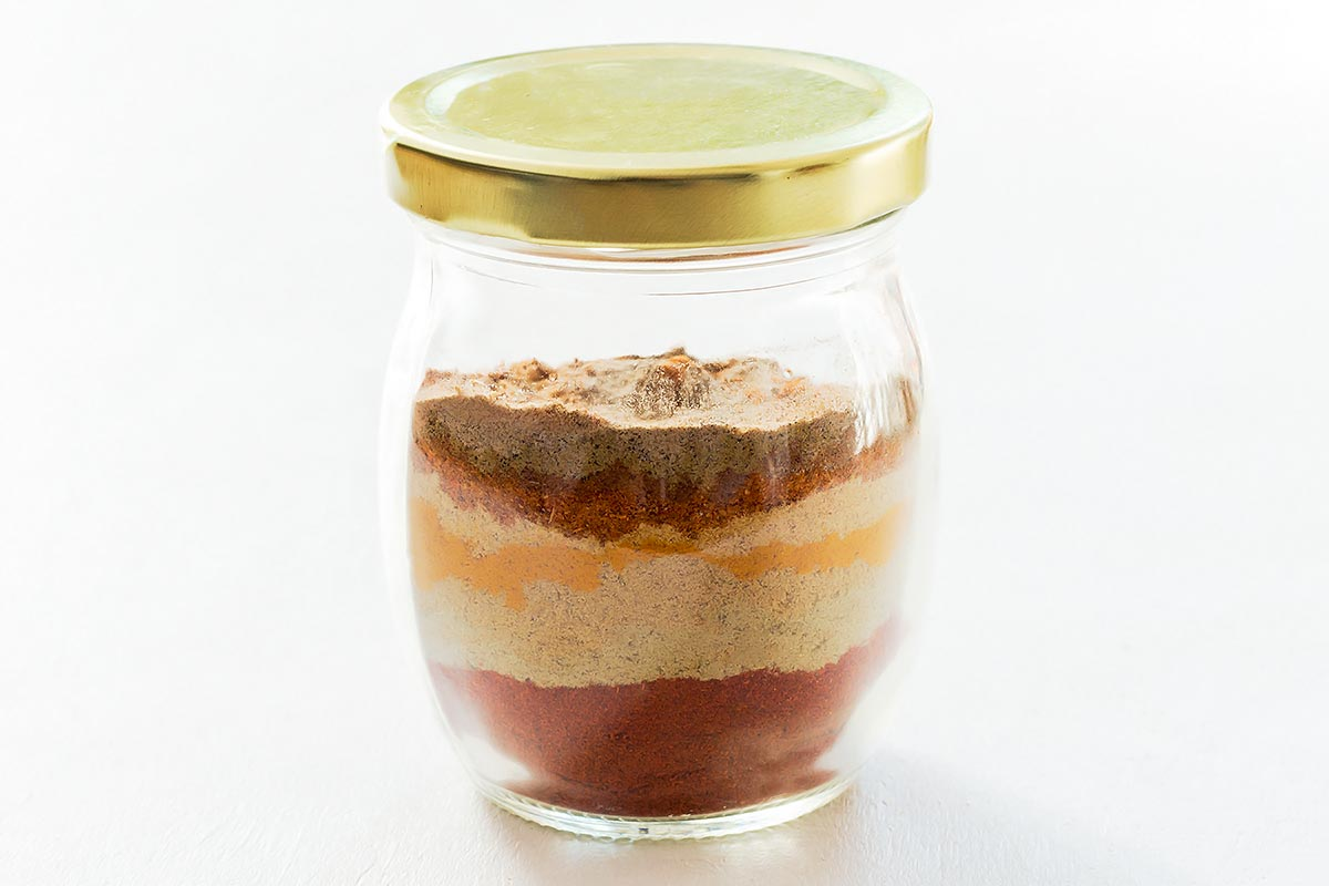 Tandoori Spice Mix in a jar
