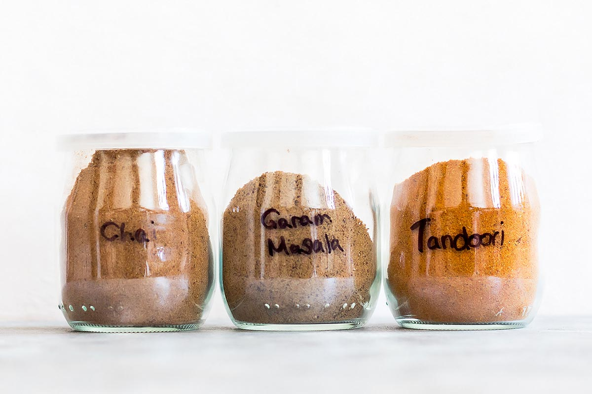 Homemade Indian Spice Mixes