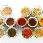 Tandoori Masala Individual Spice Ingredients Jars