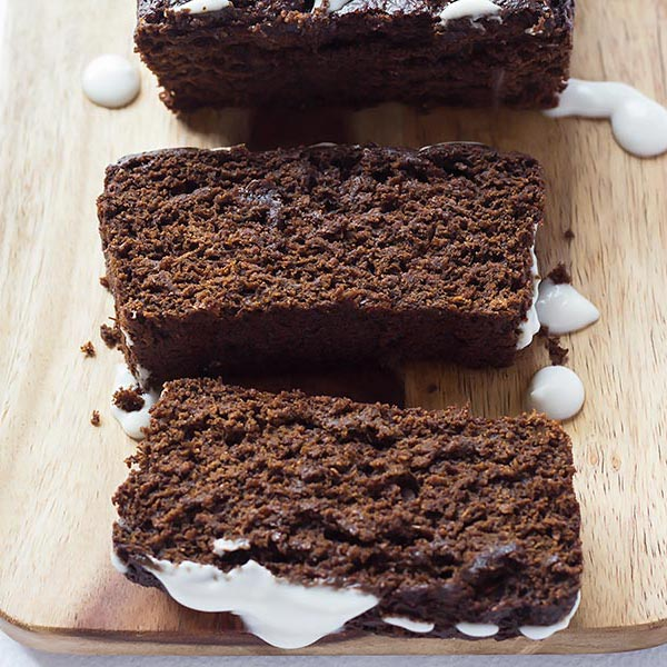 Slices of Chocolate Gingerbread Cake