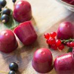 Homemade Gummies with berries