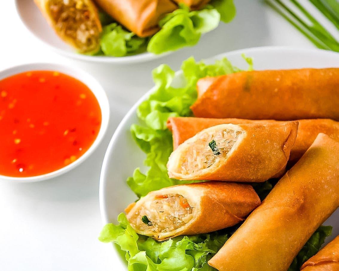 Thai Spring Rolls Recipe Leelalicious