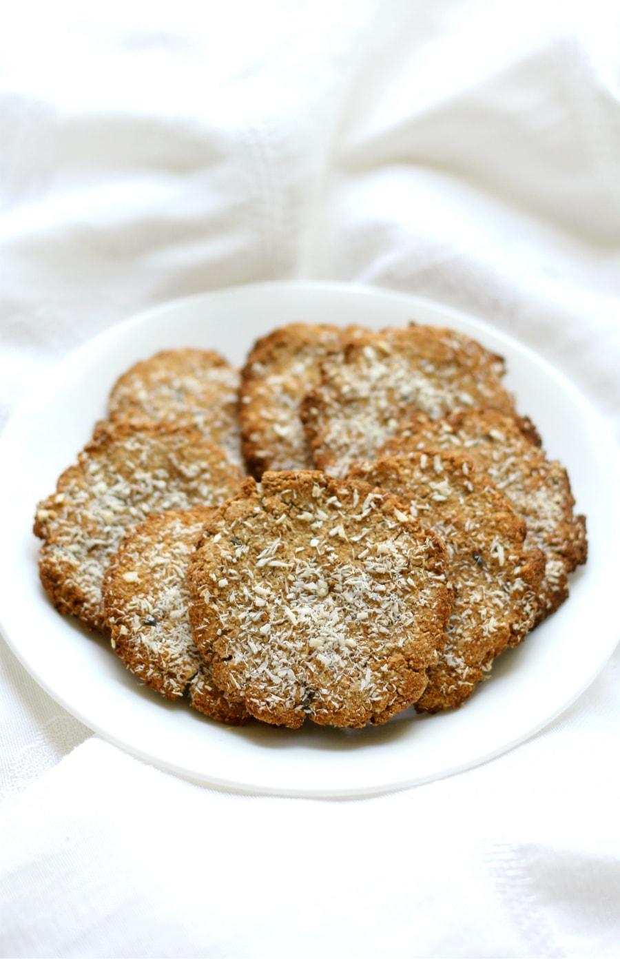 Lavender Tigernut Cookies