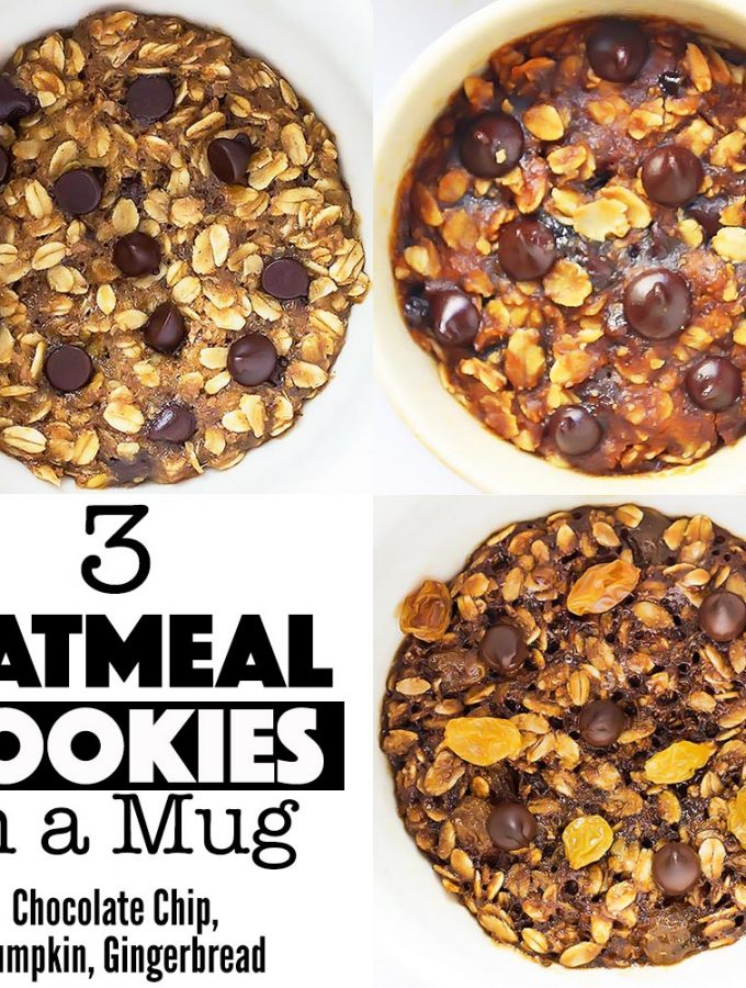 3 Mug Cookie Recipes