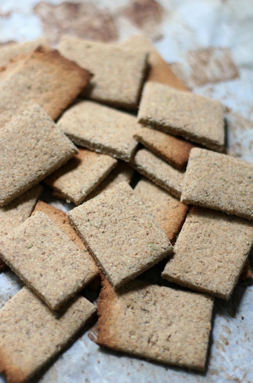 Savory Italian Crackers