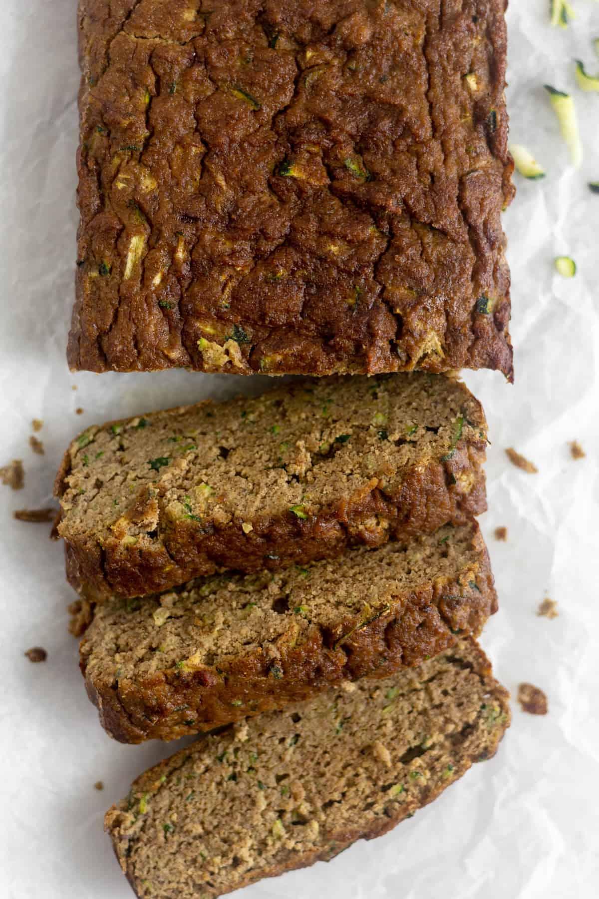 Tigernut Zucchini Bread