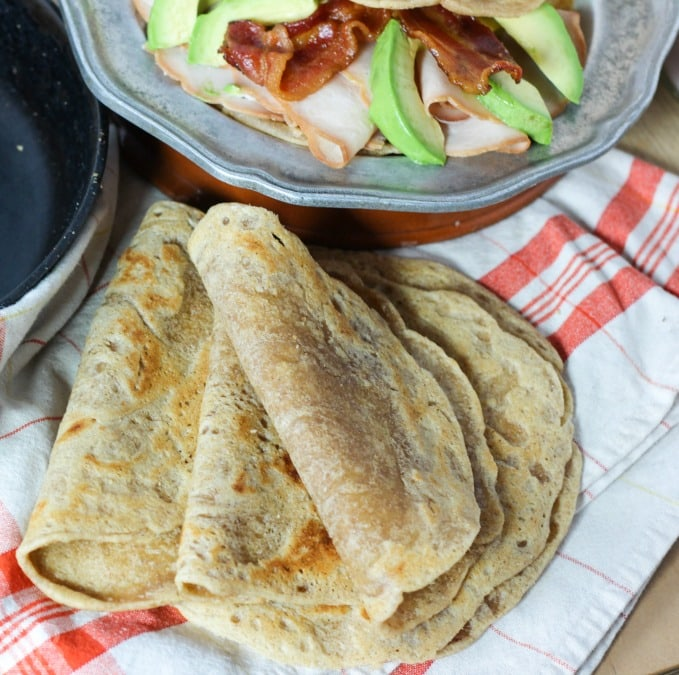 Tigernut Flour Tortillas