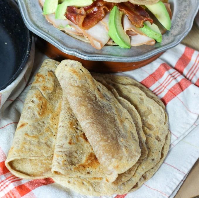 Tigernut Flour Tortillas