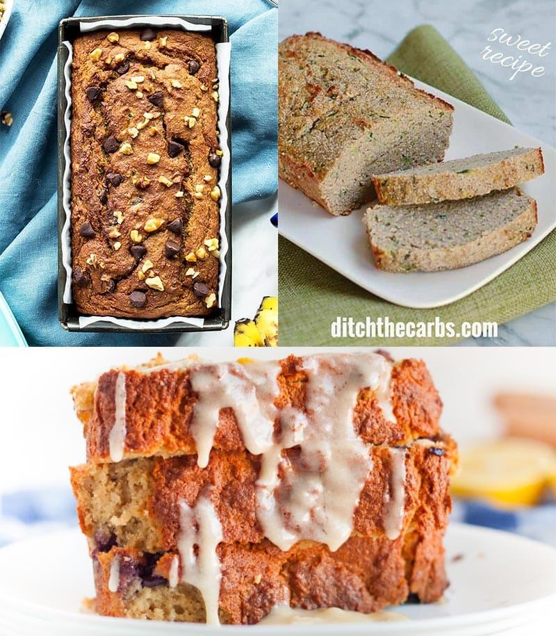 Coconut Flour Quick Bread Recipes