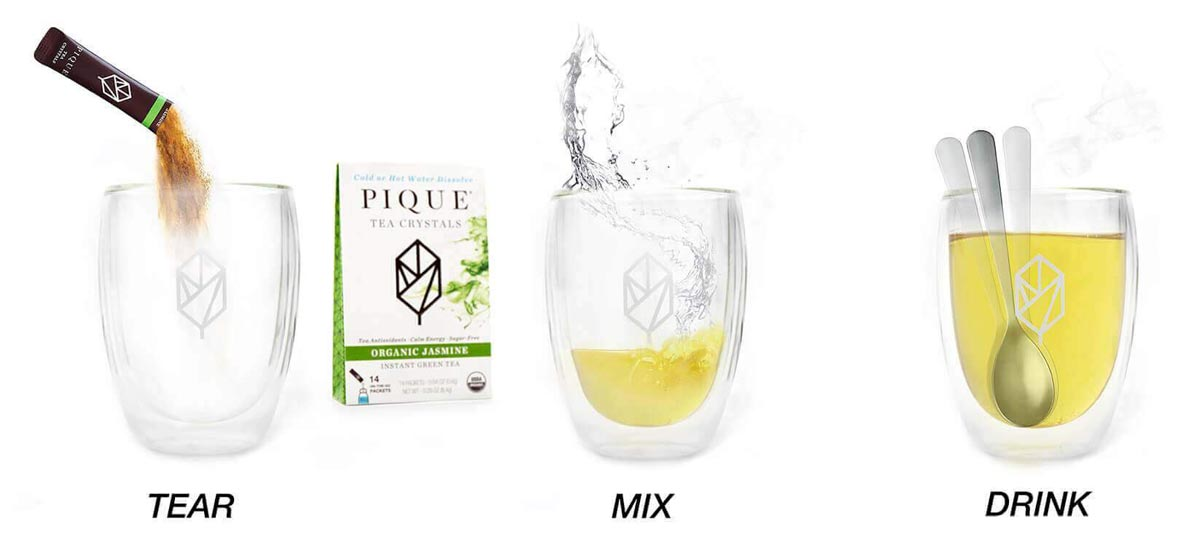 How to Use Pique Tea