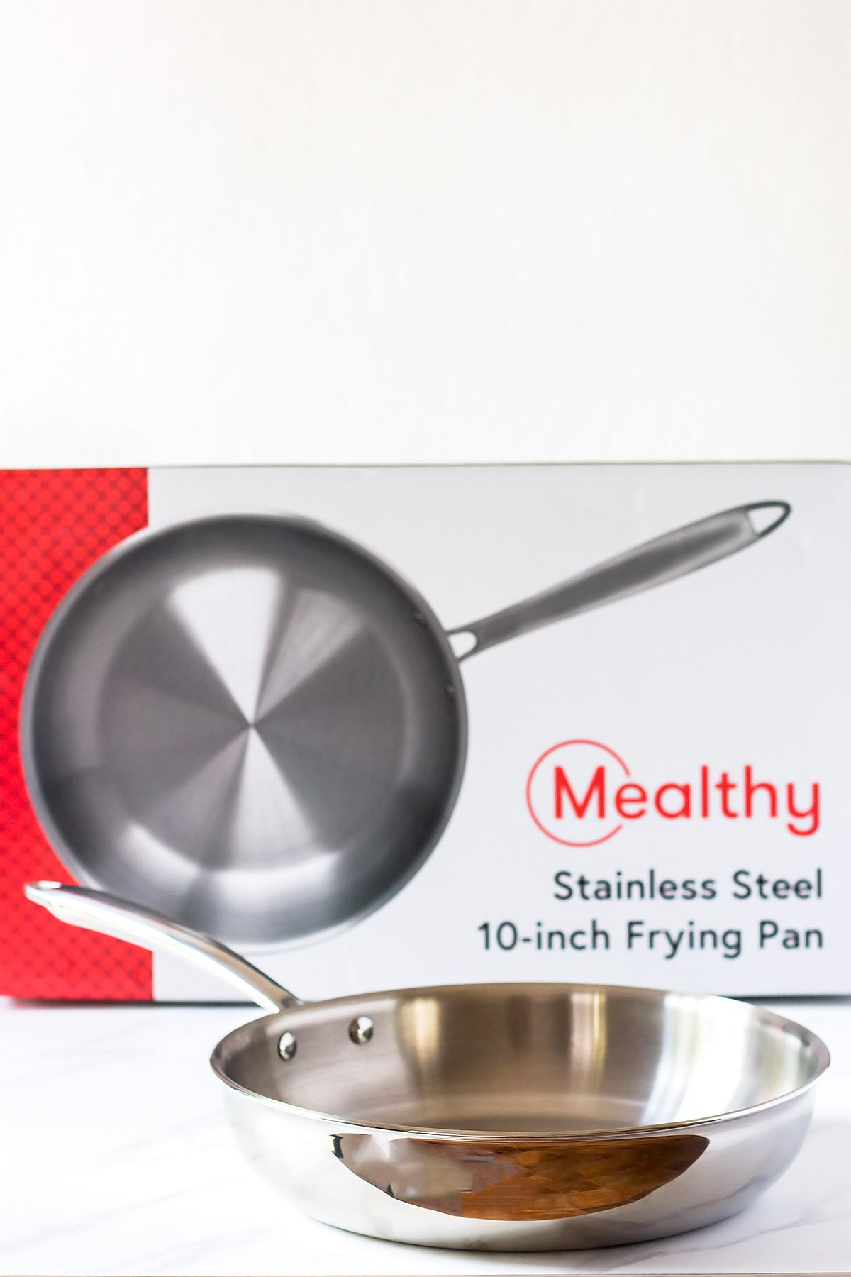 Stainless Steel Frying Pan with Box