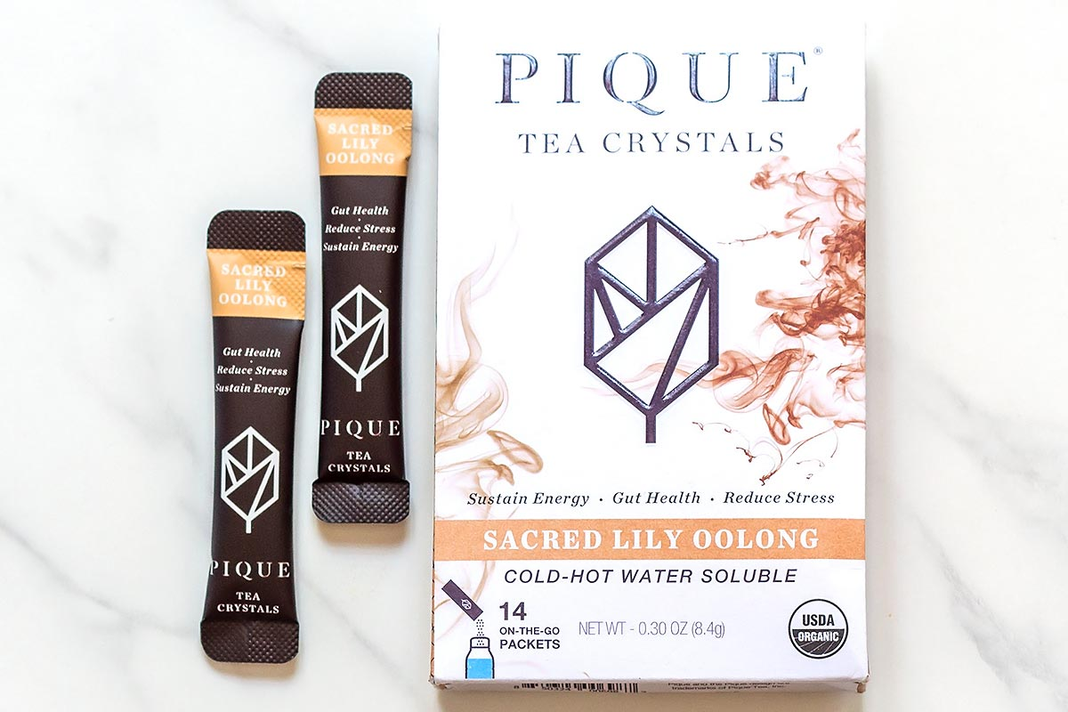 Sacred Lily Oolong Pique Tea Crystals