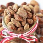 Gingerbread Roasted Almonds