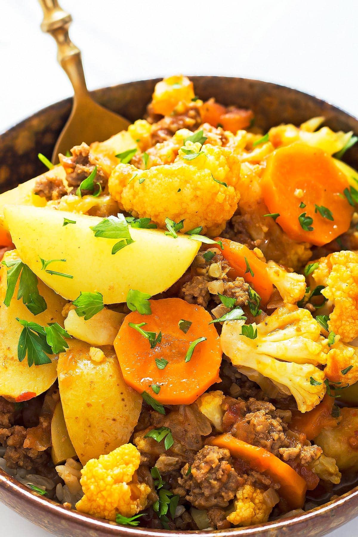 Bowl of Keema Curry