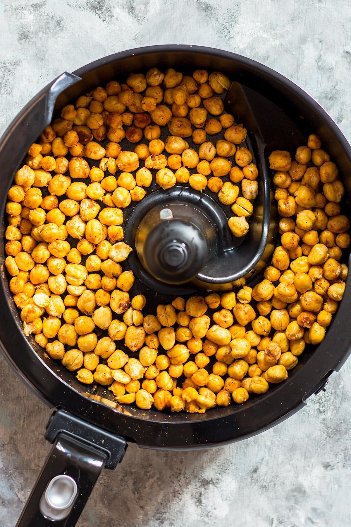 Roasted Chickpeas in Actifry