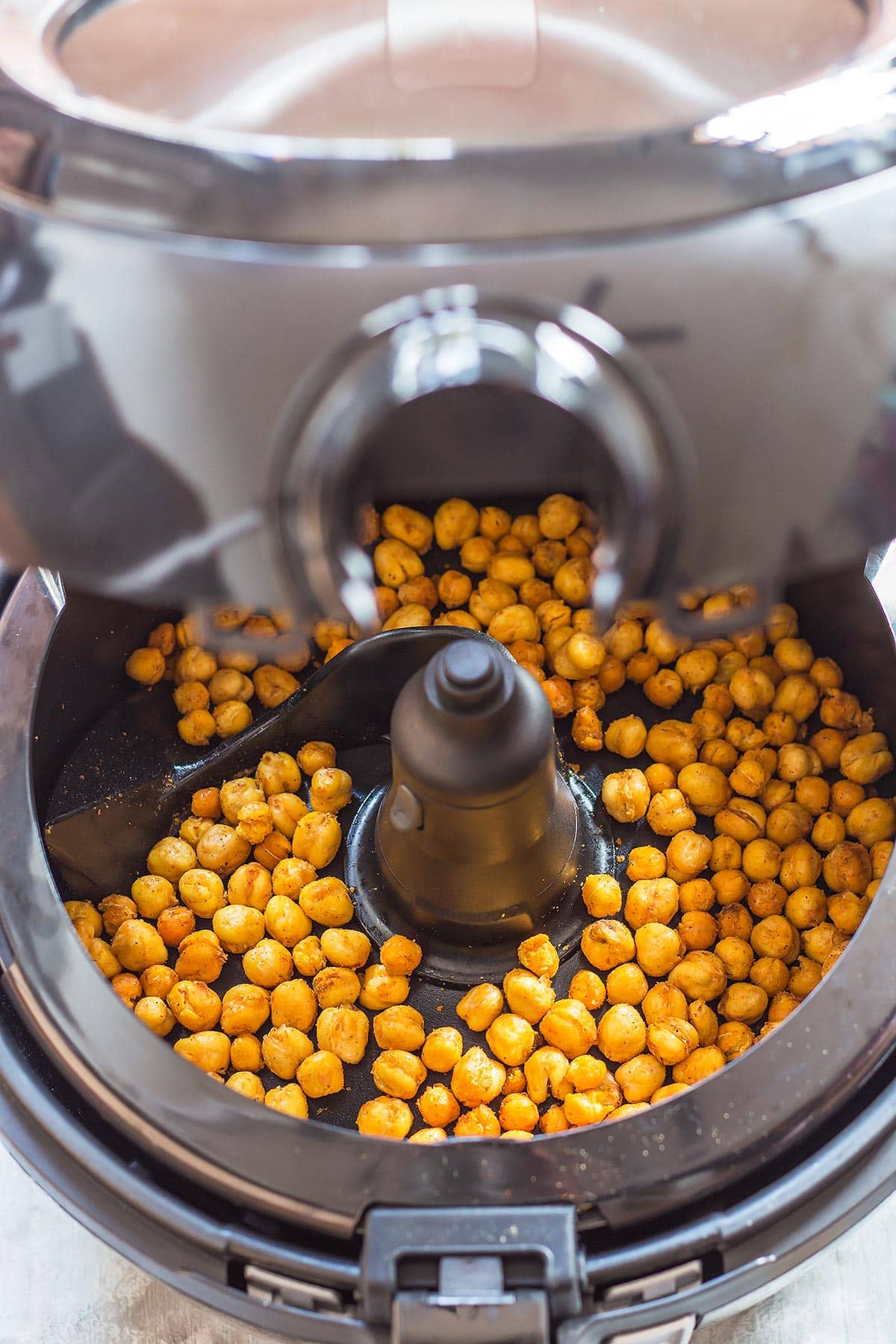Crispy Chickpeas in Air Fryer