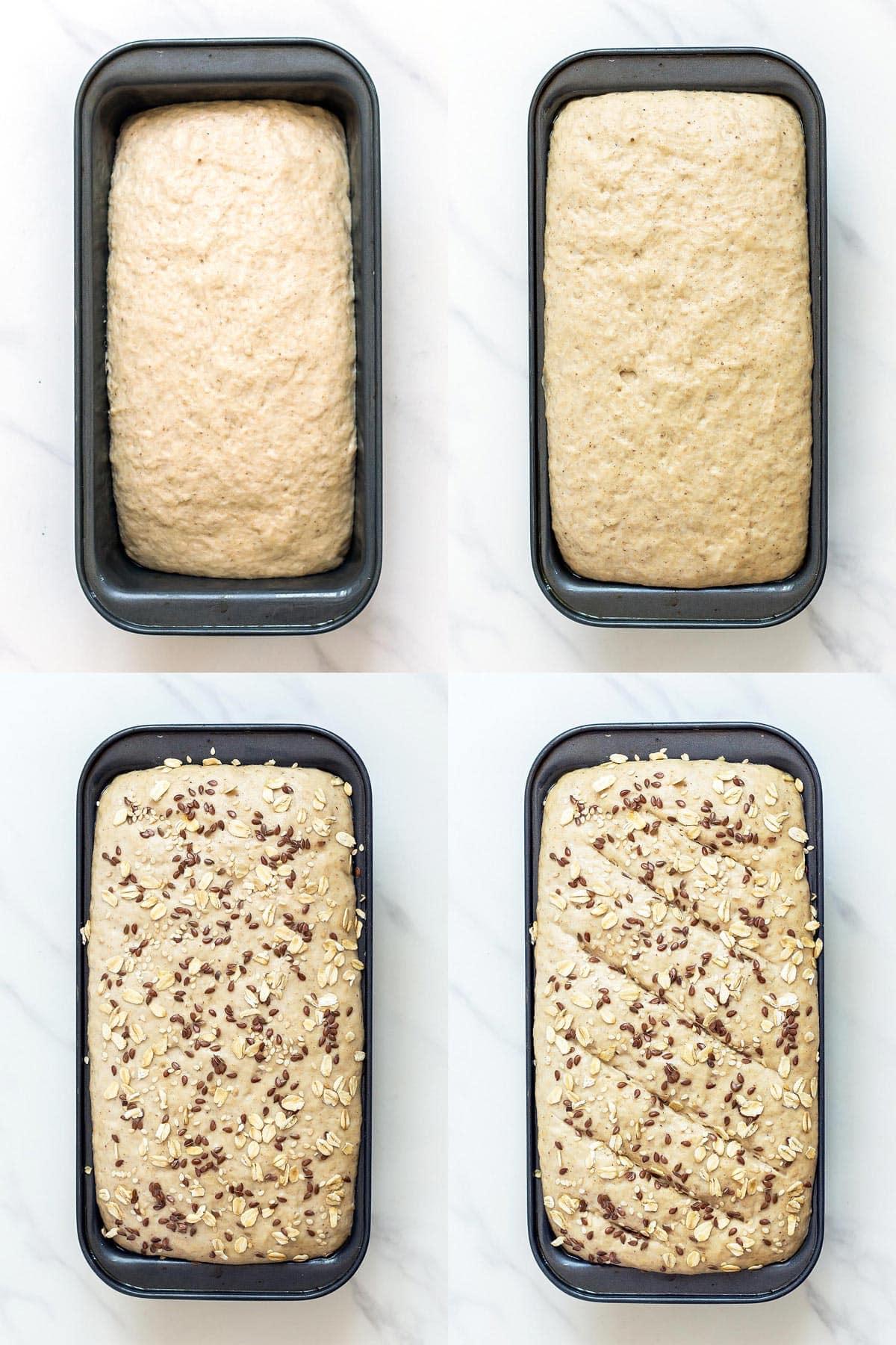 Proofing Sourdough Sandwich Bread before baking