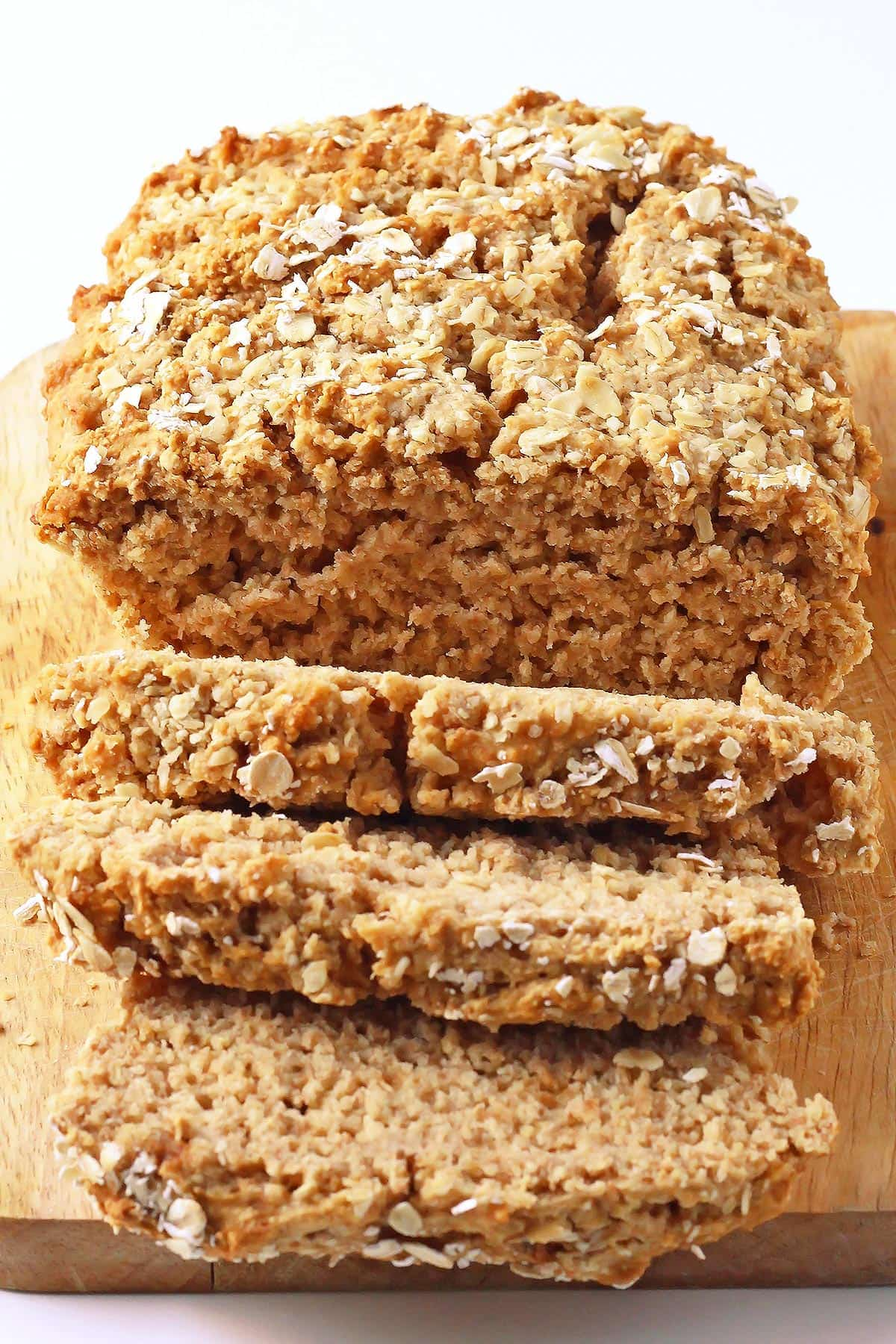 Sliced Whole Wheat Beer Bread