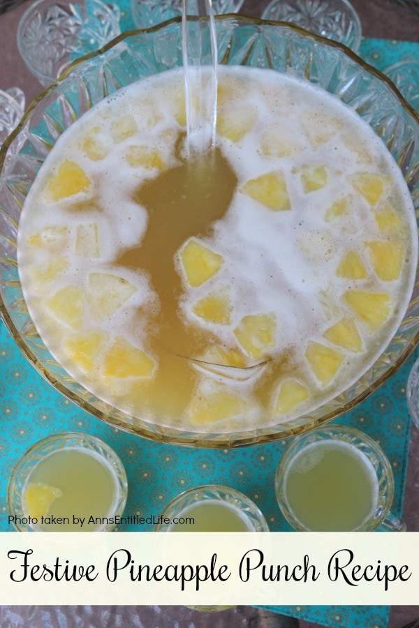 Festive Pineapple Punch