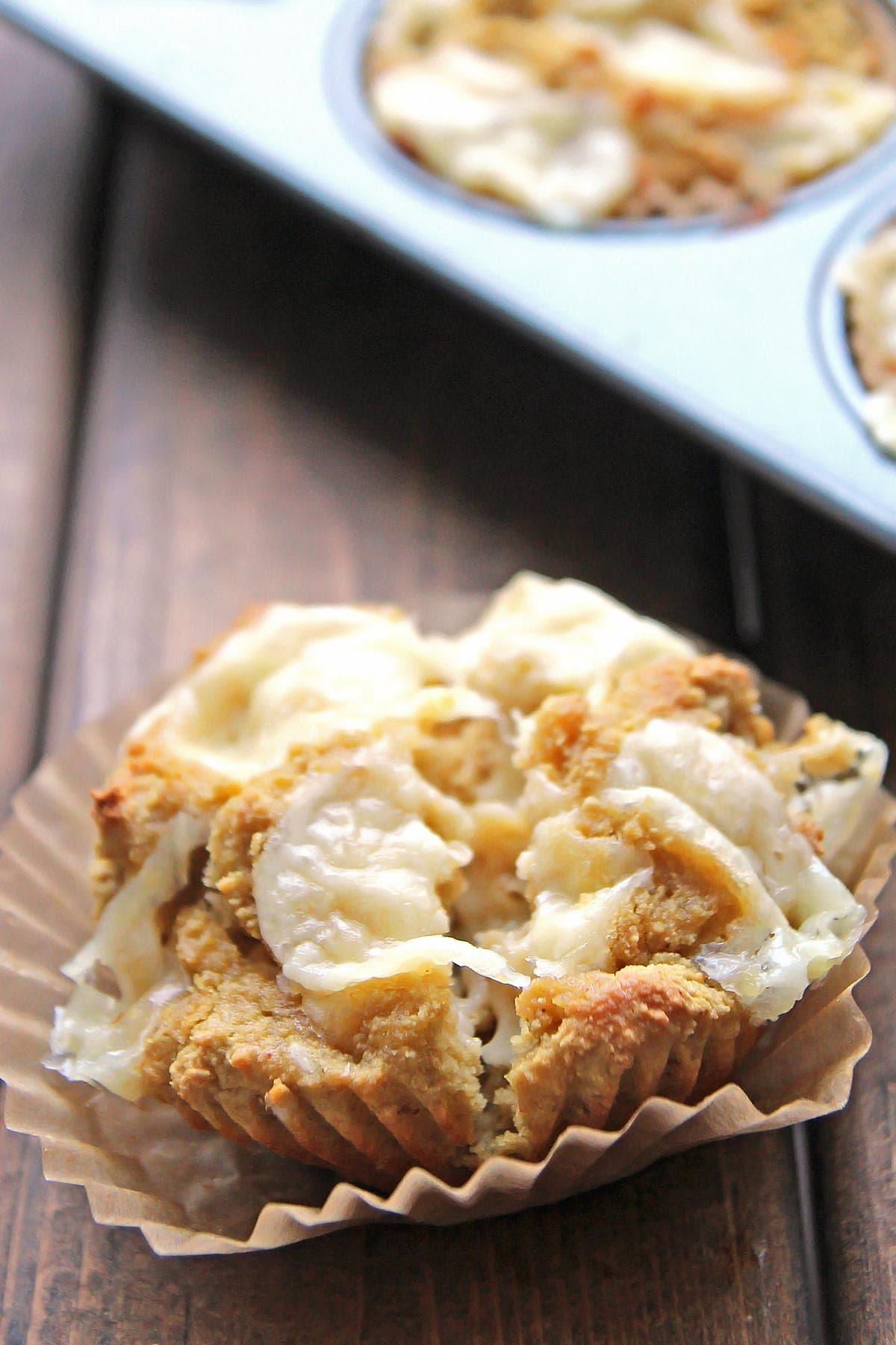 Mustard Cheese Muffins
