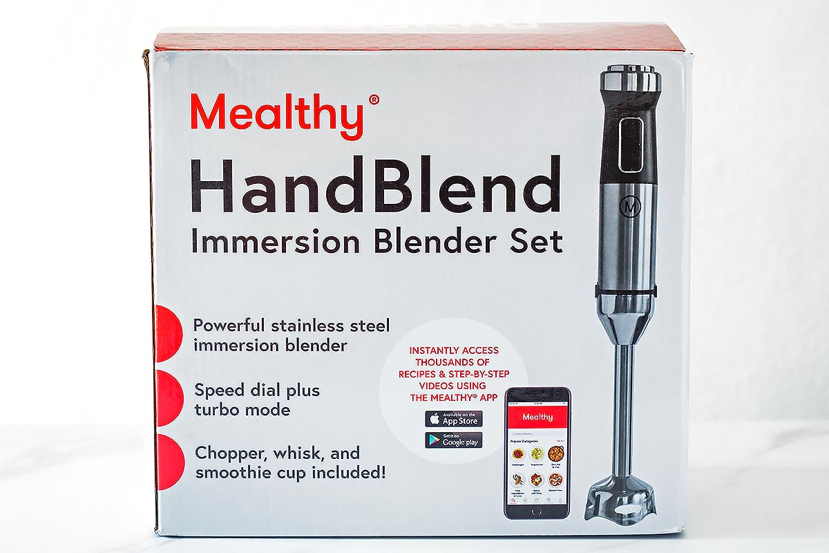 Mealthy Immersion Hand Blender set