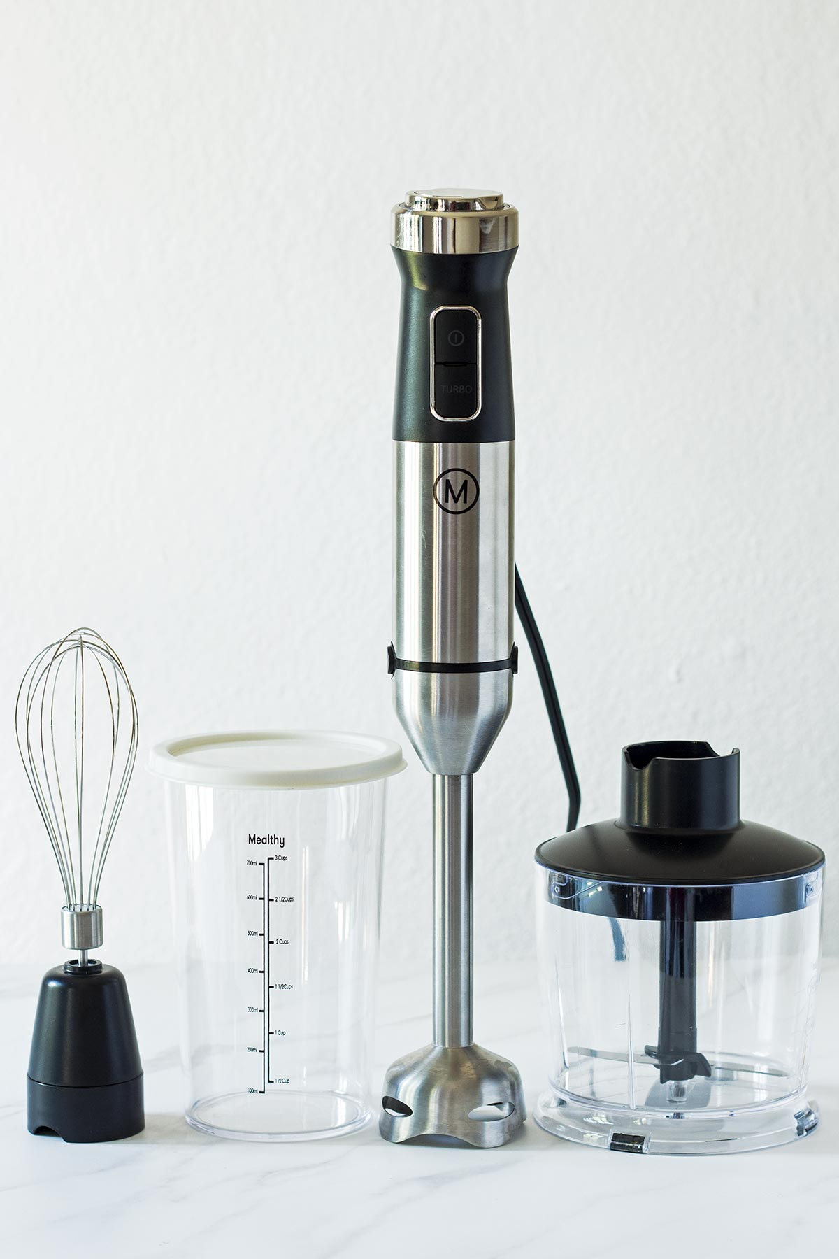 Mealthy HandBlend Immersion Blender Components