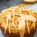Glazed Peanut Butter Muffins