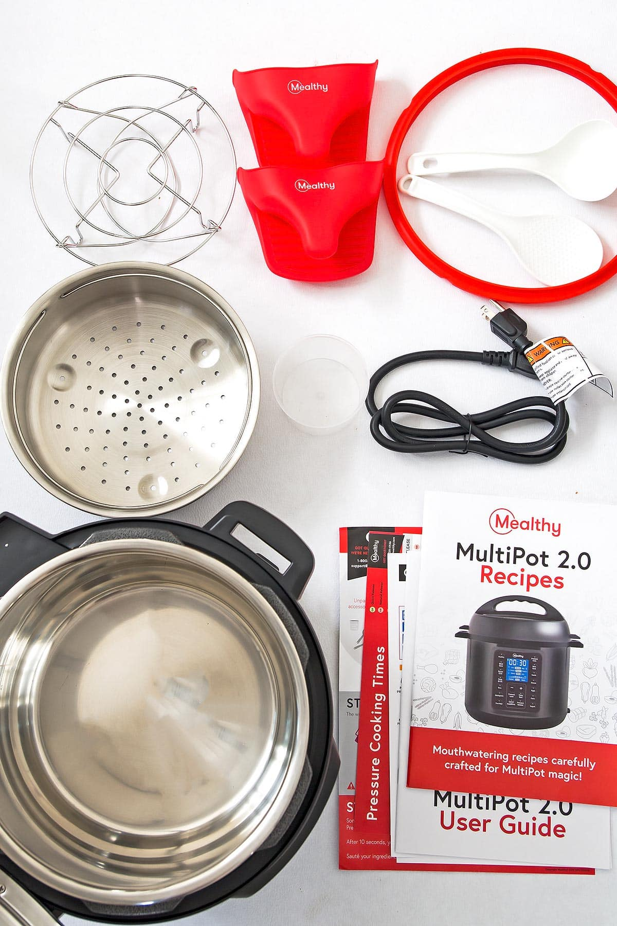 Mealthy Multipot what comes in the box