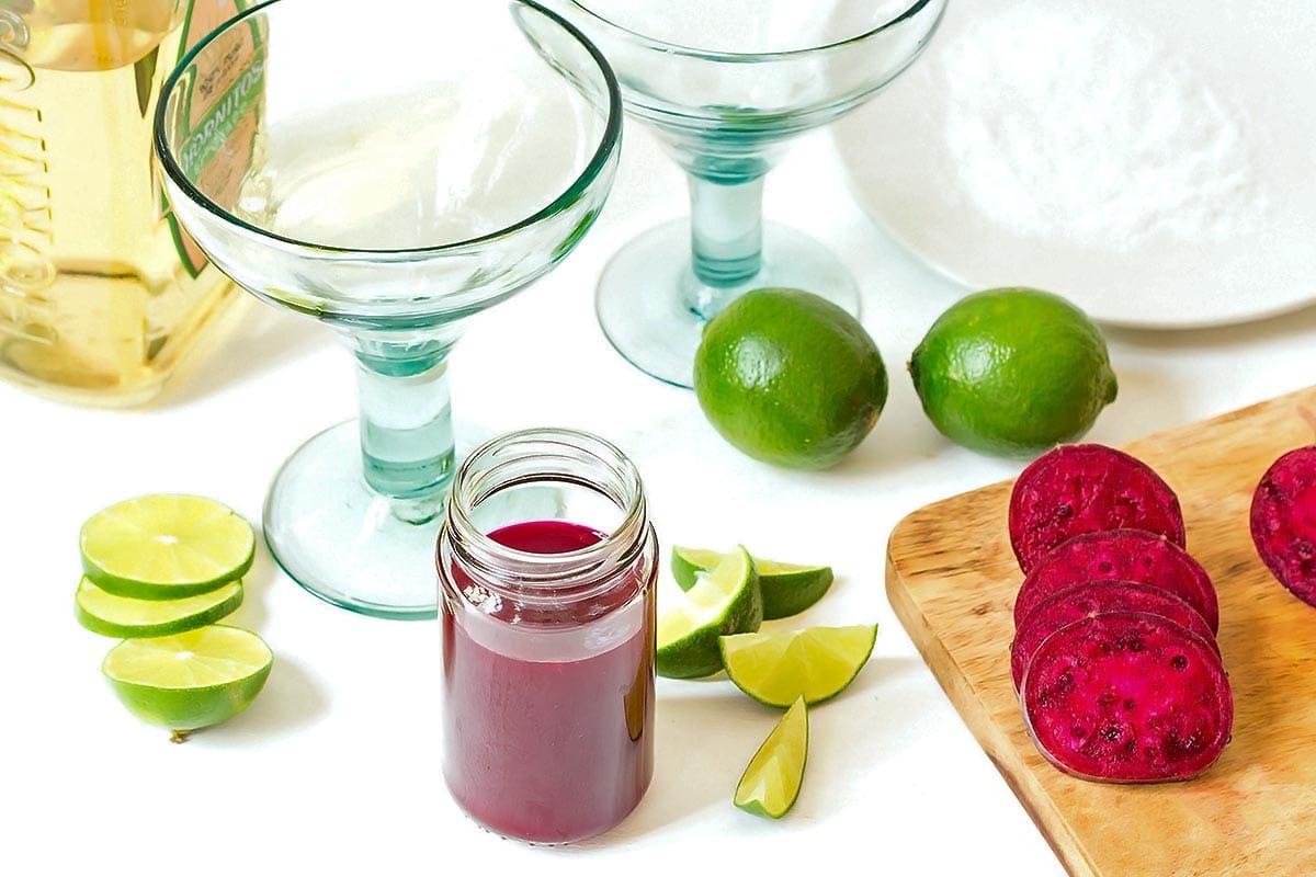 Prickly Pear Margarita Ingredients