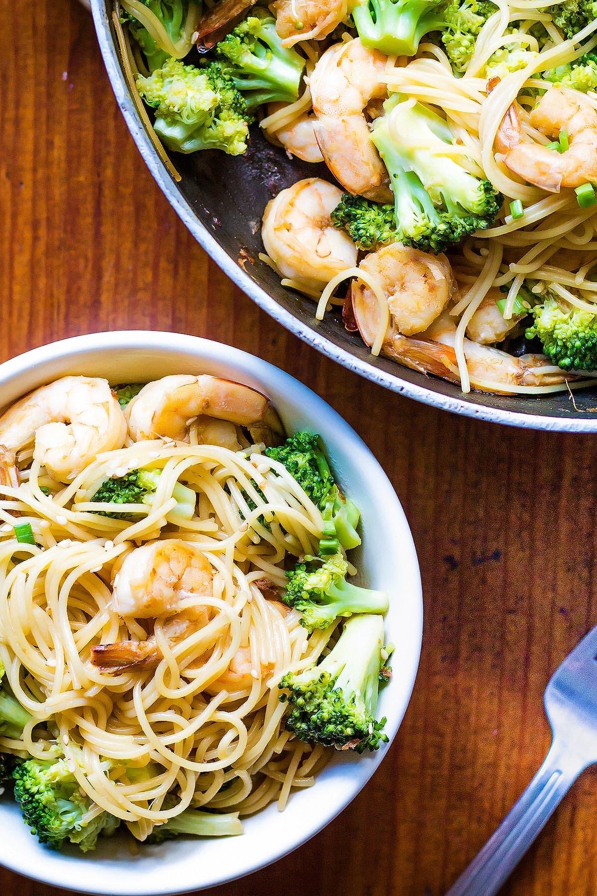 Teriyaki Shrimp Broccoli