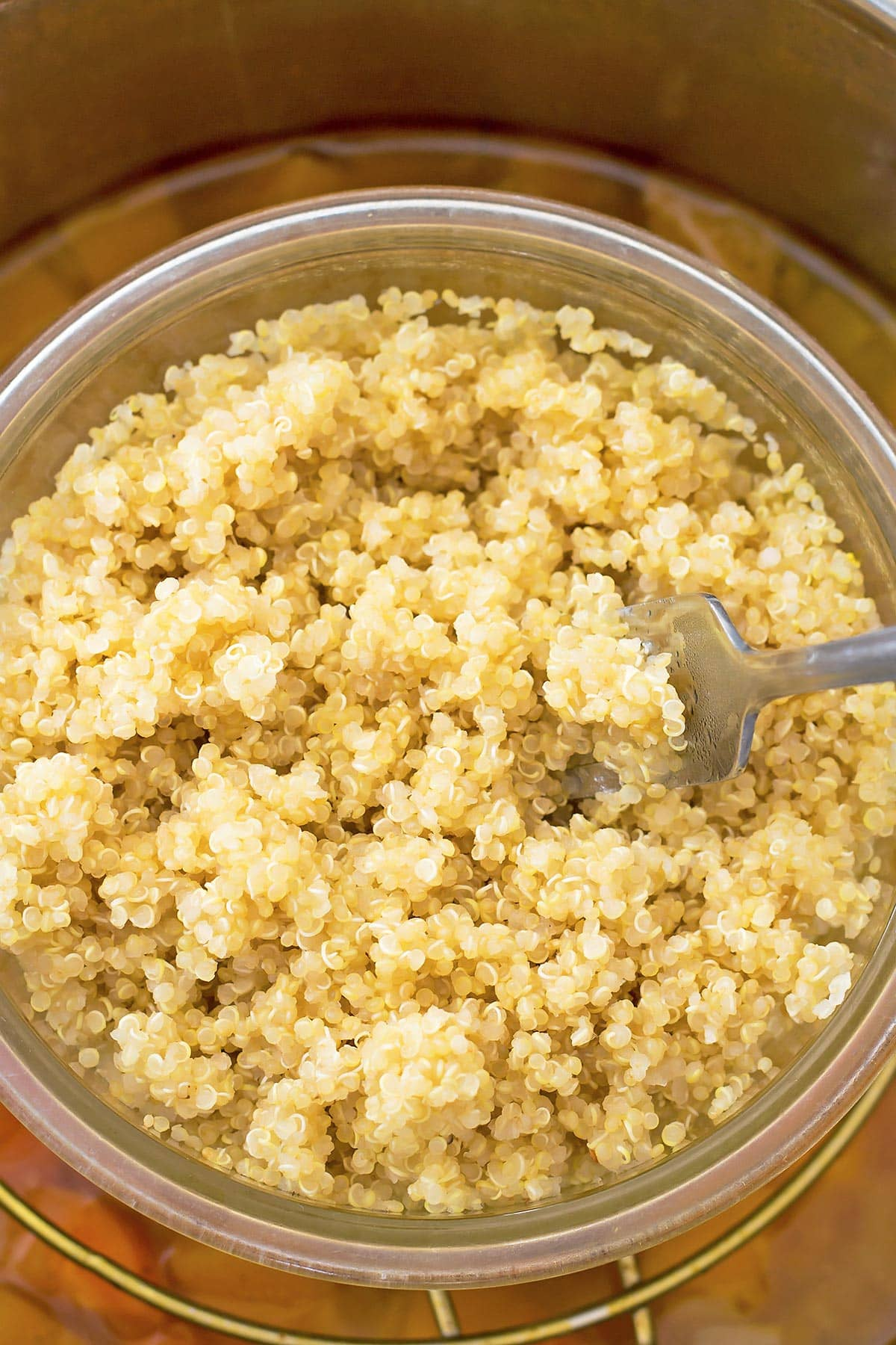 Fluffed Quinoa PIP Butternut Squash Soup