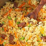 Rice Pilaf in Instant Pot