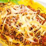 Keto Spaghetti Squash Bolognese
