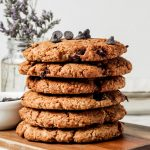 Stack of Almond Flour Cookie Recipe
